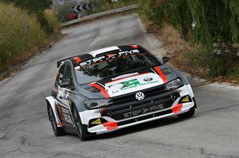 Angelucci Fabio Cambria Massimo, Volkswagen Polo R5 #101, Island Motorsport, COPPA RALLY DI ZONA