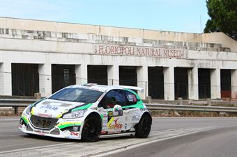 Riolo Ernest Floris Alessandro,Peugeot 208 T16 R5 #103, CST Sport, COPPA RALLY DI ZONA