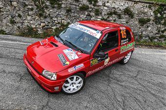 CARRARO MIRKO GUGLIERI DEBORA, RENAULT CLIO WILLIAMS A7 #105, COPPA RALLY DI ZONA