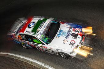 BIONDO ALESSANDRO GALLORINI RAFFAELE , BMW E 36 RS 2.0 #113, COPPA RALLY DI ZONA