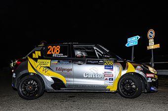 Roberto Pelle Giulia Luraschi, Suzuki Swift R1 #208, COPPA RALLY DI ZONA