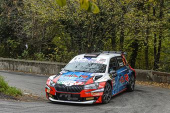Luca Bottarelli Walter Pasini, Skoda Fabia R5 #5, New Turbomark Team, COPPA RALLY DI ZONA