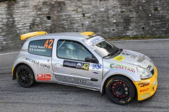 Guglielmo De Nuzzo Andrea Colapietro, Renault Clio S1600 #42, Casarano Rally Team, COPPA RALLY DI ZONA