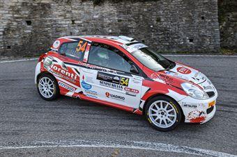 Luca Fiorenti Filippo Alicervi, Renault Clio R3 #54, Leonessa Corse, COPPA RALLY DI ZONA