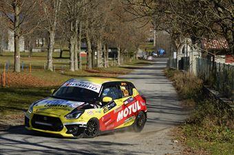 Simone Goldoni Eric Macori, Suzuki Swift R1 #128, COPPA RALLY DI ZONA
