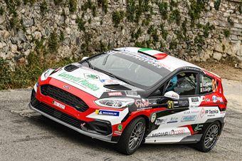 Giacomo Guglielmini Simone Giorgio, Ford Fiesta Rally4 #81, Maranello Corse, COPPA RALLY DI ZONA