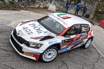 Alessio Profeta Sergio Raccuia, Skoda Fabia r5 #6, Island Motorsport, COPPA RALLY DI ZONA