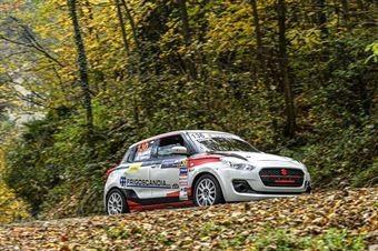 Nicola Schileo Gianguido Furnari, Suzuki Swift R1 #136, Winners Rally Team, COPPA RALLY DI ZONA