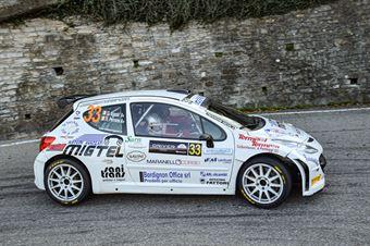 Giorgio Sgado Nicola Perrone. Peugeot 207 S2000 #33, Maranello Corse, COPPA RALLY DI ZONA