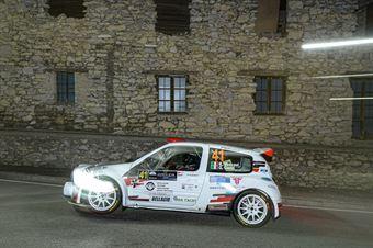 Roberto Vescovi Giancarla Guzzi, Renault Clio S1600 #41, GR Motorsport, COPPA RALLY DI ZONA