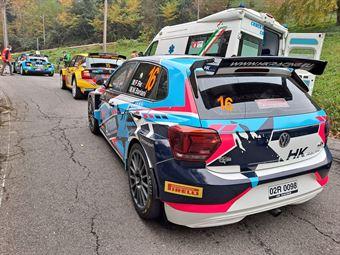 Felice Re Mara Bariani, Volkswagen Polo R5, #16, ETRURIA, COPPA RALLY DI ZONA