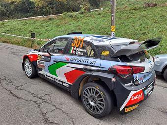 Corrado Fontana Nicola Arena, Hyundai i20 WRC #301, BLUTHUNDER RACING ITALY, COPPA RALLY DI ZONA