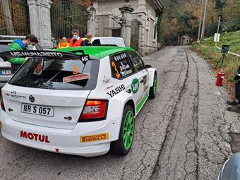 Andrea Carella   Enrico Bracchi, Skoda Fabia R5, #3 MUNARETTO, COPPA RALLY DI ZONA