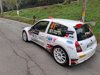 Roberto Vescovi  Giancarla Guzzi, Renault Clio S1600, #41, Asd Gr Motorsport, COPPA RALLY DI ZONA