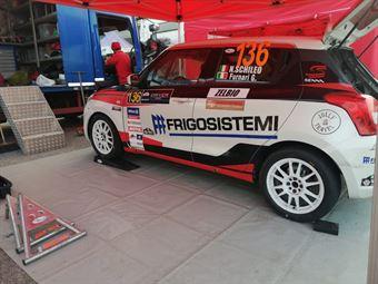 Nicola Schileo   Gianguido Furnari , Suzuki Swift, #136, COPPA RALLY DI ZONA