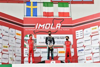 Podio Gara 2 Rookie, ITALIAN F.4 CHAMPIONSHIP POWERED BY ABARTH