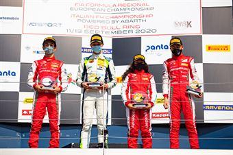 Race 2 Rookie Podium, ITALIAN F.4 CHAMPIONSHIP POWERED BY ABARTH