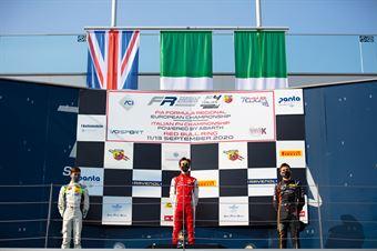 Race 3 Rookie Podium, ITALIAN F.4 CHAMPIONSHIP POWERED BY ABARTH