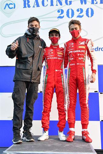 podio campionato, ITALIAN F.4 CHAMPIONSHIP POWERED BY ABARTH