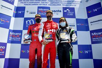 Podium Race 1, FORMULA REGIONAL EUROPEAN CHAMPIONSHIP