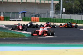 Oliver Rasmussen; F3 Tatuus #6; Prema Powerteam; winner Race 1, FORMULA REGIONAL EUROPEAN CHAMPIONSHIP