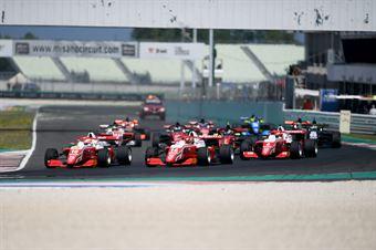 Start Race 1, FORMULA REGIONAL EUROPEAN CHAMPIONSHIP