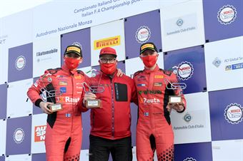 Podium Race3, FORMULA REGIONAL EUROPEAN CHAMPIONSHIP