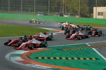 Start Race2, FORMULA REGIONAL EUROPEAN CHAMPIONSHIP