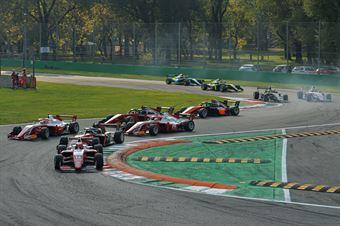 Start Race 3, FORMULA REGIONAL EUROPEAN CHAMPIONSHIP