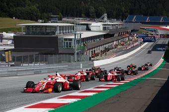Race 1 Start, FORMULA REGIONAL EUROPEAN CHAMPIONSHIP