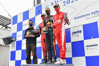 Hauger Dennis, Pasma Patrik, Rasmussen Oliver, race 1, FORMULA REGIONAL EUROPEAN CHAMPIONSHIP