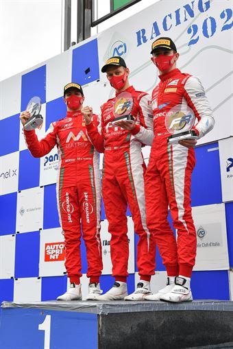 podium race 1 rookie, FORMULA REGIONAL EUROPEAN CHAMPIONSHIP