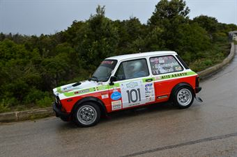 Domenighini Giacomo Rocco,Torricelli Vincenzo(A112 Abarth,Team Bassano,#101), CAMPIONATO ITALIANO RALLY AUTO STORICHE