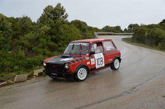 Dall Avo Marcogino,Piras Manuel(A112 Abarth,Promoservice,#103), CAMPIONATO ITALIANO RALLY AUTO STORICHE