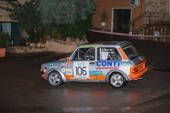 Conti Giovanni Battista,Demontis Marco(A112 Abarth,Autoservice Sport,#106), CAMPIONATO ITALIANO RALLY AUTO STORICHE