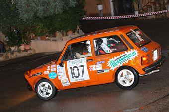 Cazziolato Giuseppe,Nolfi Giancarlo(A112 Abarth,Team Bassano,#107), CAMPIONATO ITALIANO RALLY AUTO STORICHE