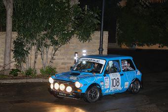 Gentile Marco,Frasson Marina(A112 Abarth,Team Bassano,#108), CAMPIONATO ITALIANO RALLY AUTO STORICHE