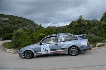 Bentivogli Bruno,Musselli Salvatore(Sierra Cosworth,Team Bassano,#14), CAMPIONATO ITALIANO RALLY AUTO STORICHE