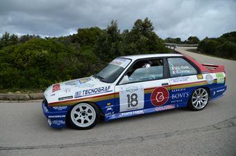 Coda Gianni Luigi,Deiana Sergio(Bmw M3,Porto Cervo Racing,#18), CAMPIONATO ITALIANO RALLY AUTO STORICHE