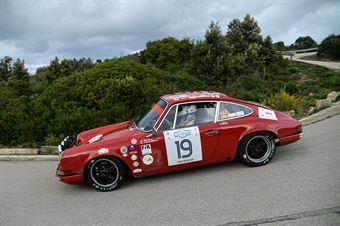 Parisi Antonio,Moncada Antonello(Porsche 911 s ,Rododendri Historic,#19), CAMPIONATO ITALIANO RALLY AUTO STORICHE