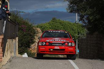 Pierangioli Valter,Celli Ronny(Ford Sierra,Proracing,#5), CAMPIONATO ITALIANO RALLY AUTO STORICHE