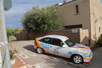 Pes di San Vittorio Pietro,Cossu Alessandro(Opel Kadet Gsi,Team Bassano,#24), CAMPIONATO ITALIANO RALLY AUTO STORICHE