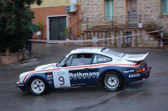 Melli Enrico,Nobili Matteo(Porsche 911 scrs,Rododendri Historic,#9), CAMPIONATO ITALIANO RALLY AUTO STORICHE