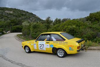 Lazzaretto Corrado,Pirisinu Giuseppe(Ford Escort rs,Team Bassano,#27), CAMPIONATO ITALIANO RALLY AUTO STORICHE