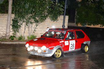 Grassi Francesco,Figoni Giovanni Maria(Fiat Ritmo 75,emmetre racing,#28), CAMPIONATO ITALIANO RALLY AUTO STORICHE