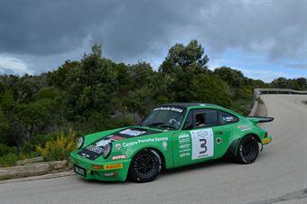 Salvini Alberto,Salerno Patrizio Maria(Porsche Carrera Rs,Palladio Historic,#3), CAMPIONATO ITALIANO RALLY AUTO STORICHE
