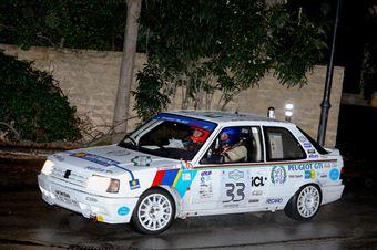Porcellato Angelo,Travaglia Paola(Peugeot 309 gti,Team Bassano,#33), CAMPIONATO ITALIANO RALLY AUTO STORICHE
