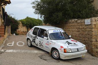 CasaloniMarco,Frau Massimiliano(Peugeot 205 Rally,#34), CAMPIONATO ITALIANO RALLY AUTO STORICHE