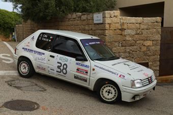 Vacca Daniele,Olla Simonluca(Peugeot 205 rally,Racing Experience,#38), CAMPIONATO ITALIANO RALLY AUTO STORICHE