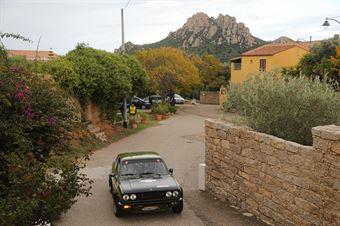 Annoni Luigi,Mantovani Giampaolo(Fiat 128 coupe,Team Bassano,#42), CAMPIONATO ITALIANO RALLY AUTO STORICHE